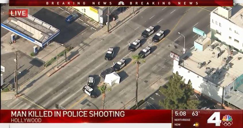 美国洛杉矶好莱坞发生枪击案 1人死亡