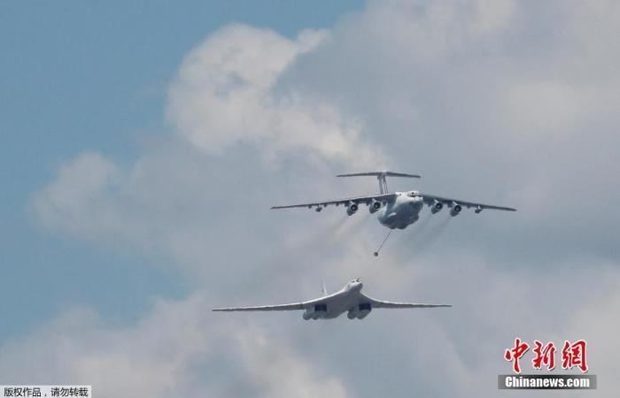 俄媒:俄空天军成功试射新型反导导弹 命中假想目标