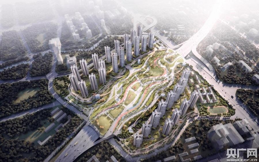 """老城市焕发新活力 广州打造15万方""""空中花园"""""""
