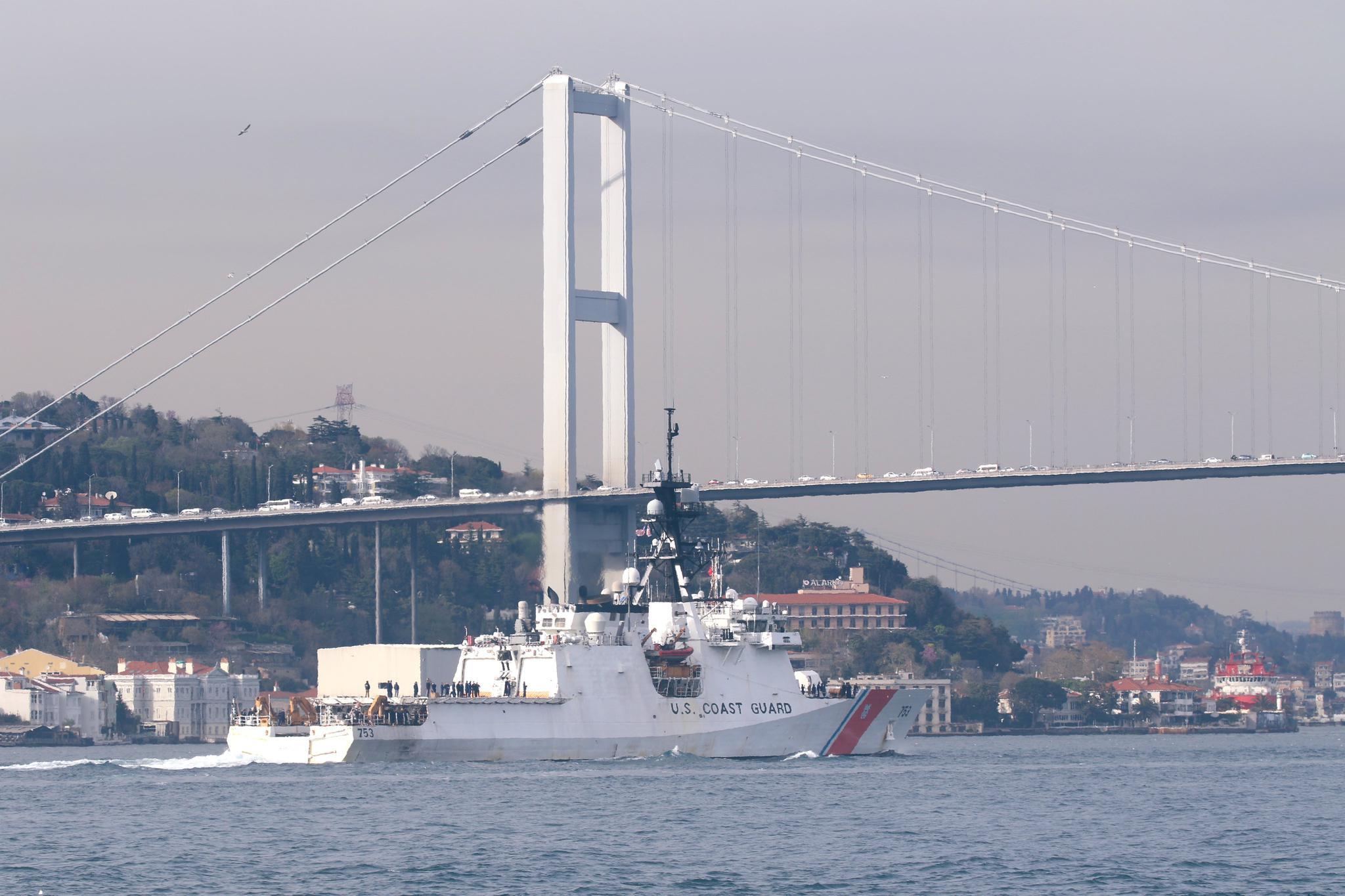 视频 换舰进黑海,美国打得什么主意?