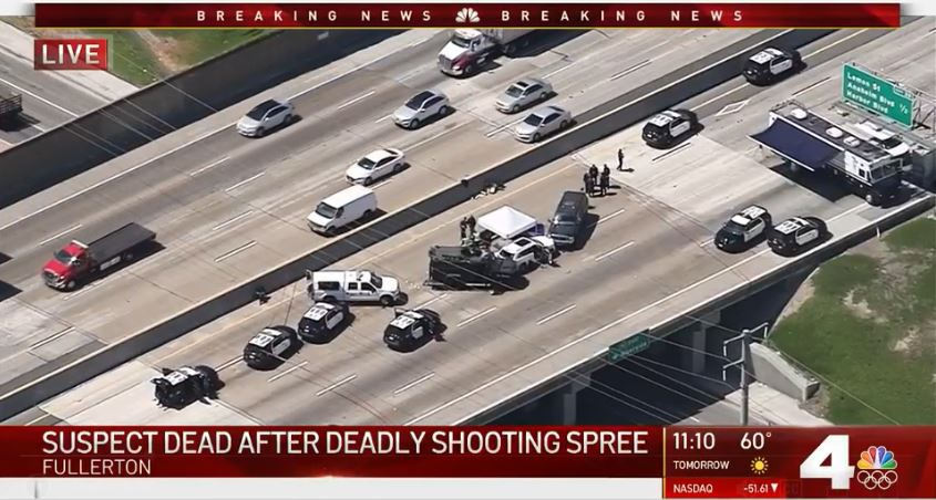 美国洛杉矶发生街头枪击案,一名华人司机身亡