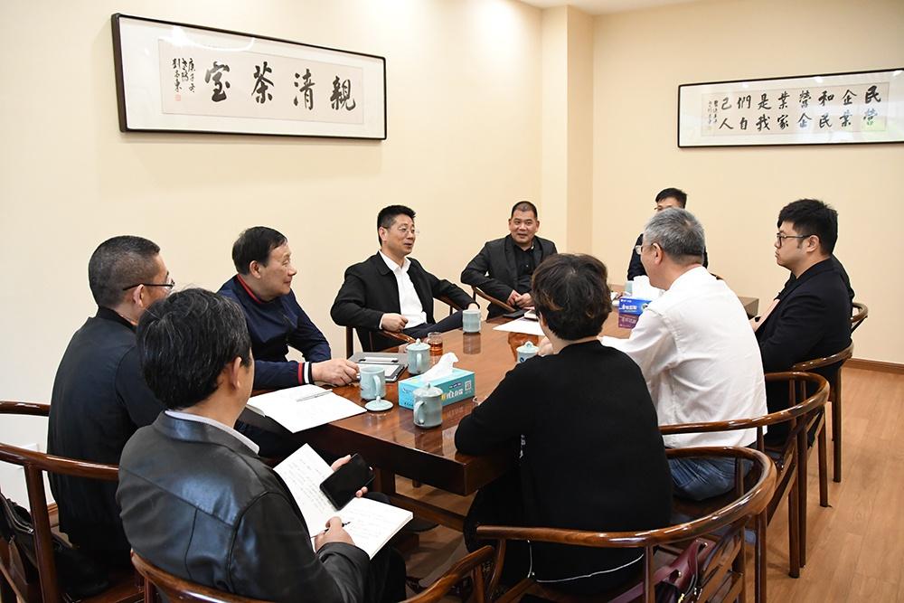 """武义县委书记请企业家喝茶丨""""亲清""""茶室专解企业烦心事"""