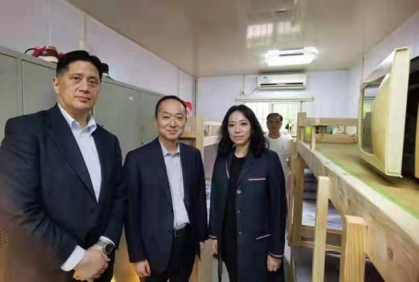 新航驿站洪智分站升级改造启用仪式
