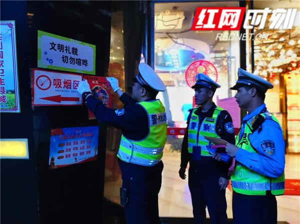 江永县交警大队:深入涉酒场所开展劝阻酒驾交通安全宣传