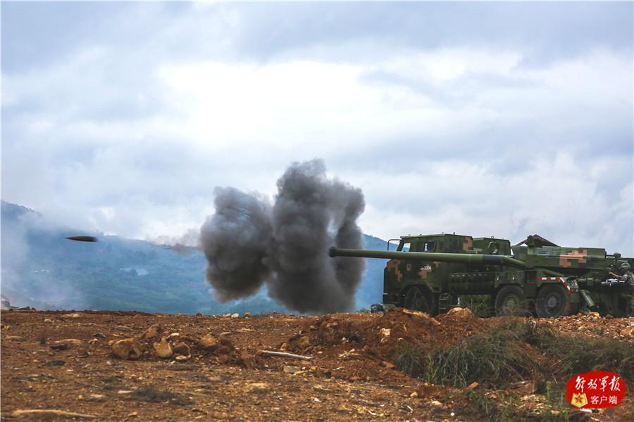 东部战区陆军某部开展实弹射击考核