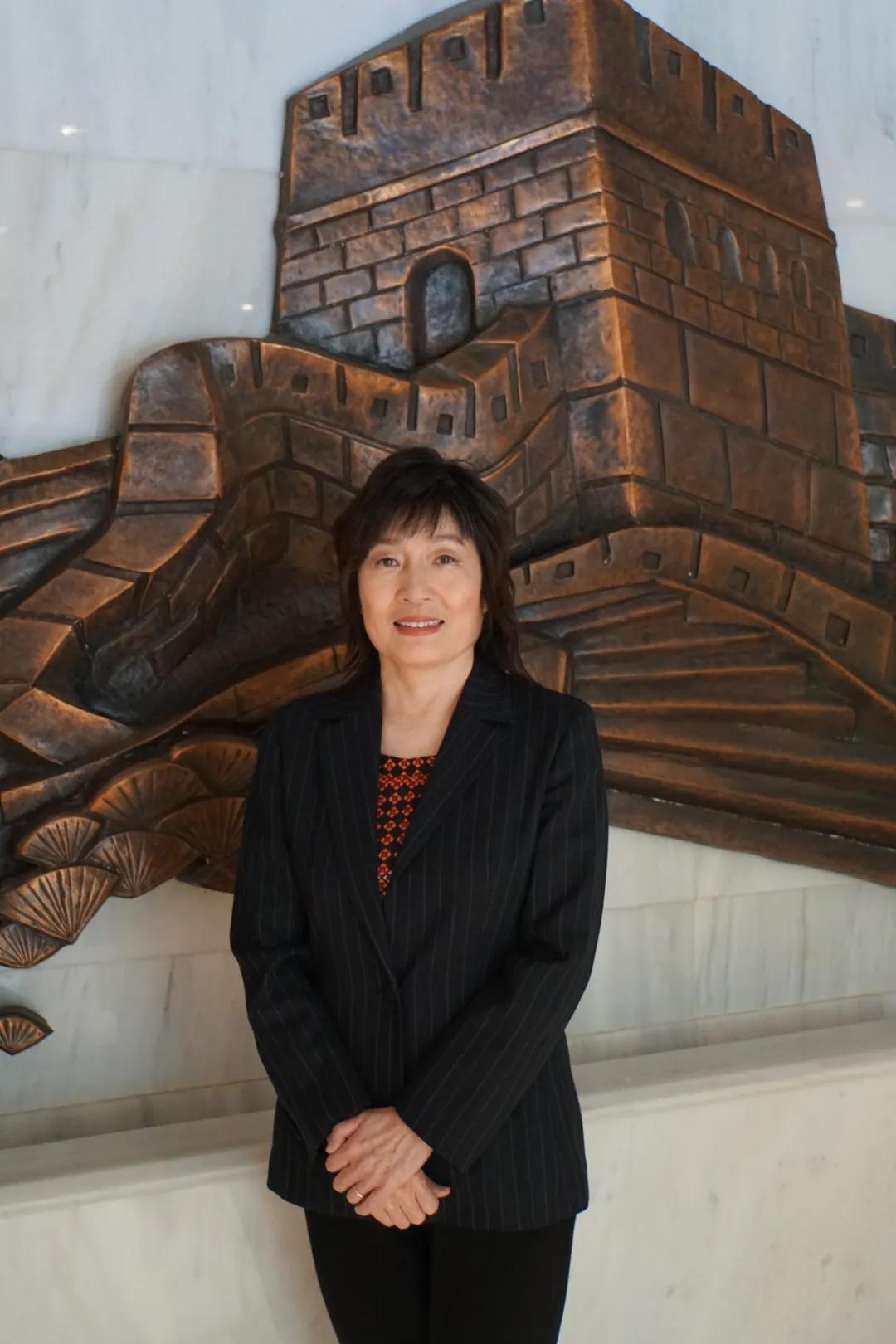 资深女外交官章启月即将离任中国驻希腊大使图片