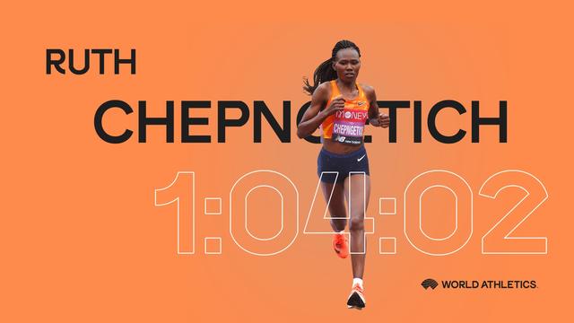 成绩提升29秒 肯尼亚名将改写女子半马世界纪录