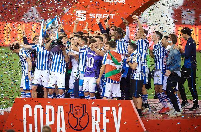 西班牙国王杯:皇家社会夺冠