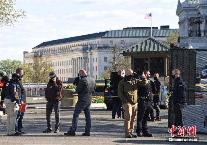 """美国会大厦袭警嫌犯所带刀具曝光 被指""""蓄意袭击"""""""