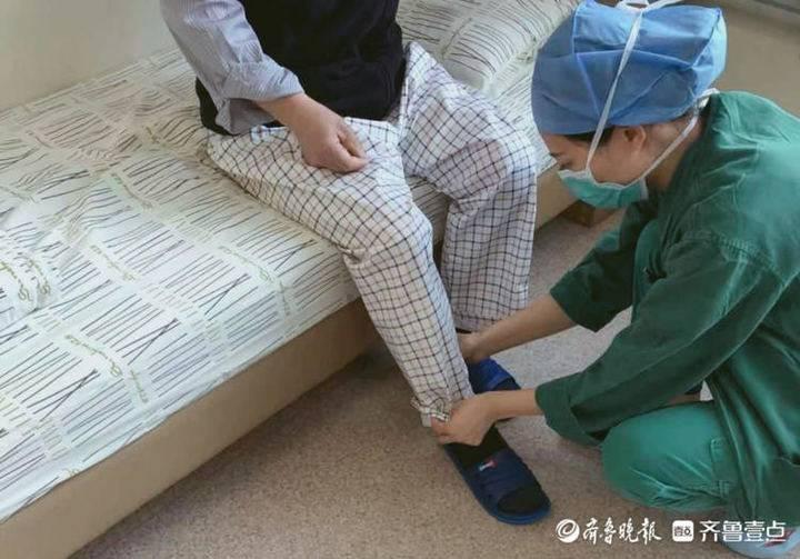 """聊城这位护士长干起针线活,缝制的专用裤让患者不再""""羞涩"""""""