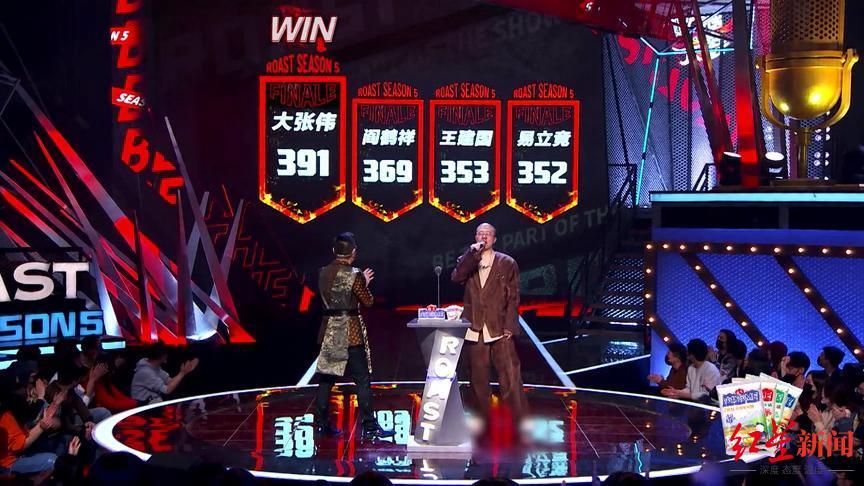 红星娱评 大张伟夺冠,《吐槽大会》到底是脱口秀节目还是表演类节目?