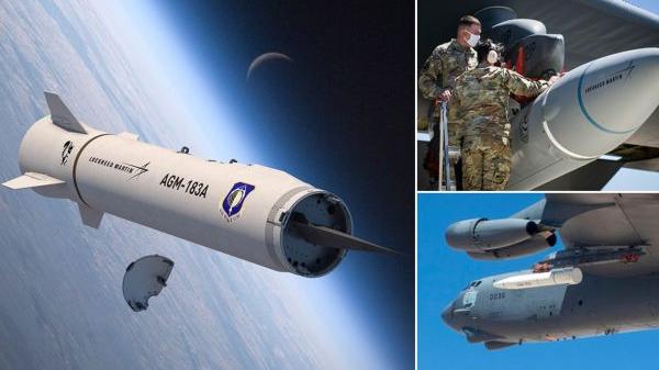 美媒:美高超音速导弹空射试验失败