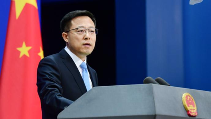 外交部回应美涉台言论:中国从来无意恐吓谁,但谁的恐吓也不怕图片