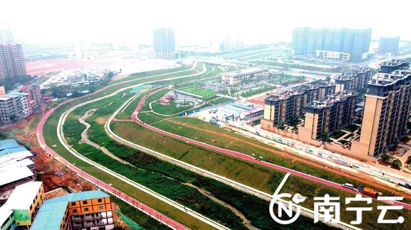 河畅、水清、岸绿、景美,南宁市心圩江环境综合整治工程PPP项目治理见成效