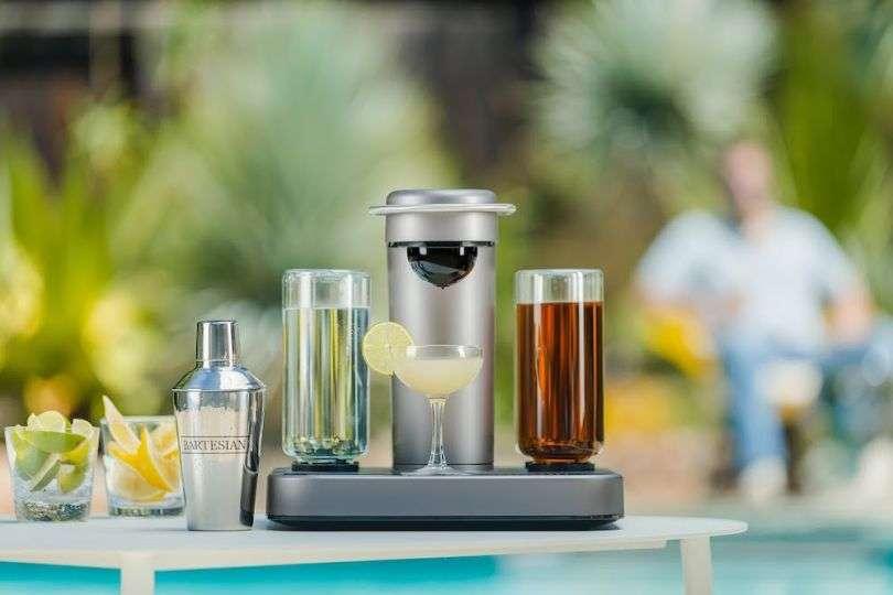 用胶囊和机器在家调酒,美国初创公司Bartesian获2000万美元A轮融资