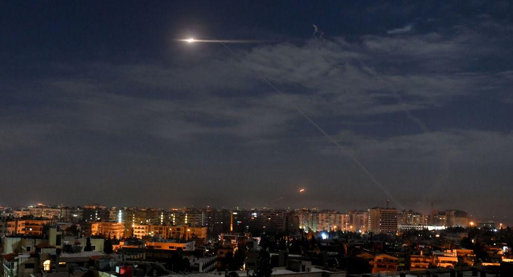 叙利亚政府军:以色列空袭大马士革郊区,叙军击落大部分导弹