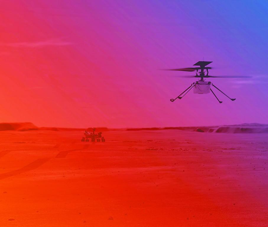 在火星上飞无人直升机难度有多大?
