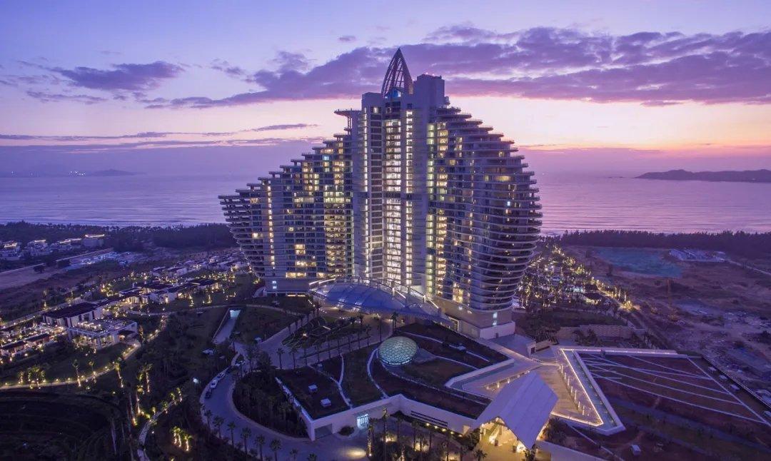 海棠湾这家酒店斩获2020年度IPA国际五星大奖