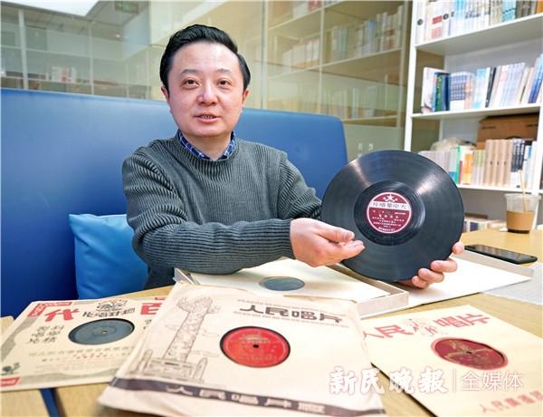 """百年红色 艺路前行丨倾听老唱片上的""""声音档案"""",回望百年大党""""年轻的模样"""""""