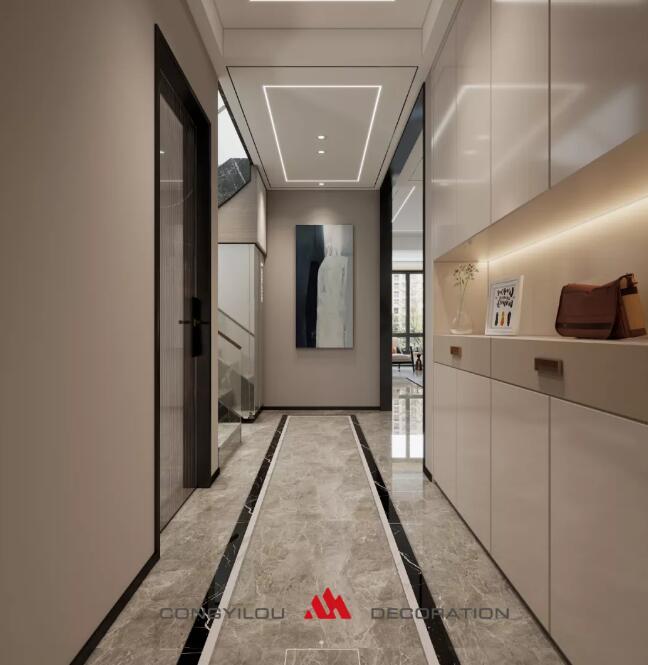 【丛一楼装饰】案例首发:135m²私宅首秀  极简设计新质感