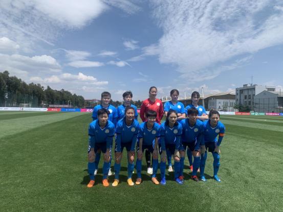 女超联赛首轮比赛 江苏女足取得开门红