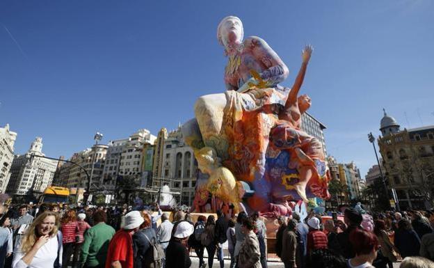 西班牙瓦伦西亚计划在9月至10月间举办2021年法雅节