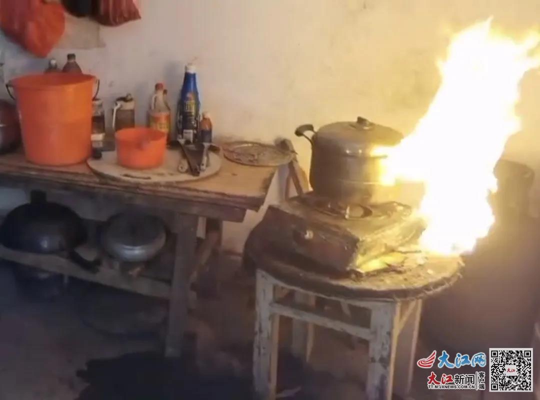 吉州区一民房内液化气罐着火 民警奋勇扑灭化解危机(图)