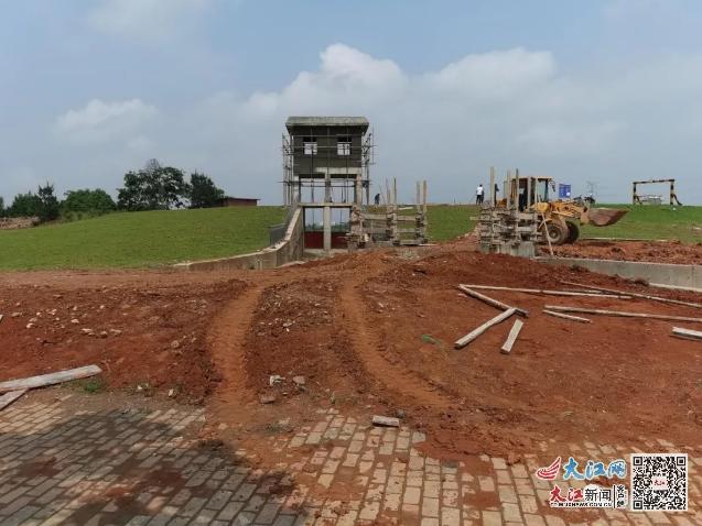 月湖:化解防汛难题解民忧 许家垅水库溢洪道拓宽工程项目即将完工