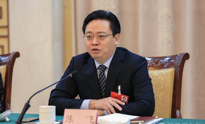烟台原市长陈飞,已任山东省人防办主任图片