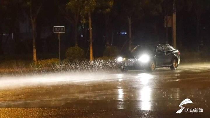 山东中东部多地降雨局地大雨!今年以来降水较常年偏多近一半