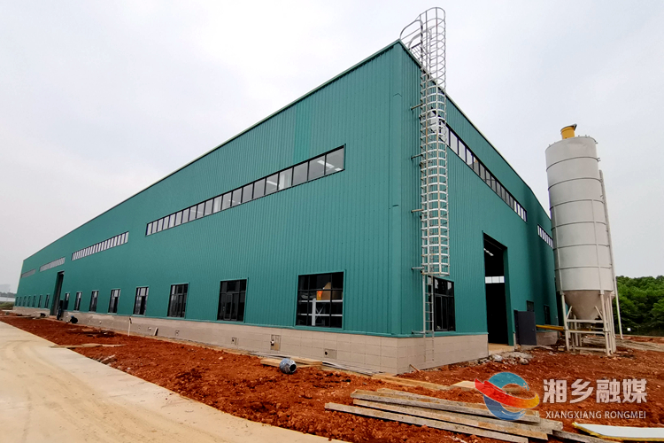 湘乡经开区大力电力建设装配式建筑生产基地项目一期试生产
