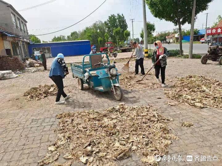 惠民县孙武街道全力打造美丽宜居家园
