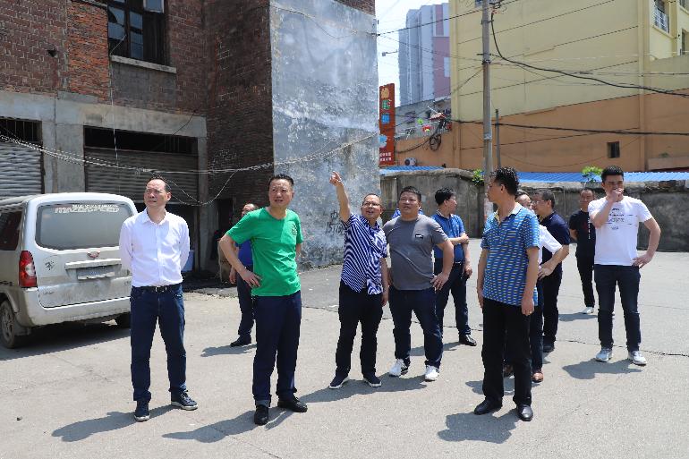 双清区坚持问题导向推进全国文明城市创建工作