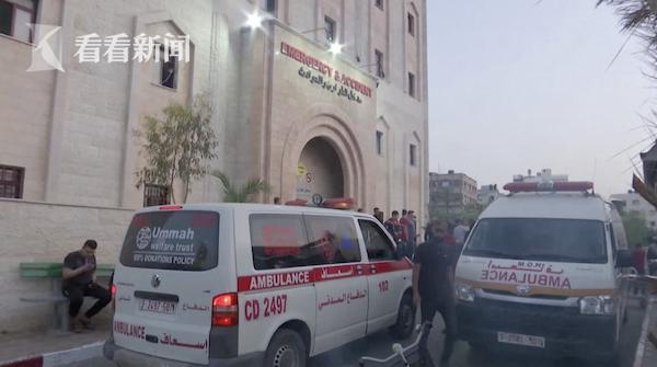视频|加沙武装人员向以色列发射火箭弹 以军空袭报复
