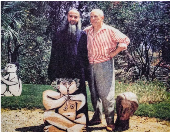 张大千诞辰122周年:与齐白石齐名 曾教毕加索画画