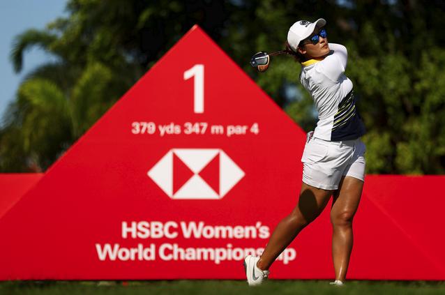 今晚【赛事集锦】带来LPGA汇丰女子世锦赛第二轮赛事精华