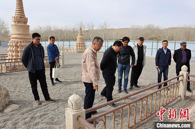 敦煌莫高窟25个佛塔遗址启动保护修缮