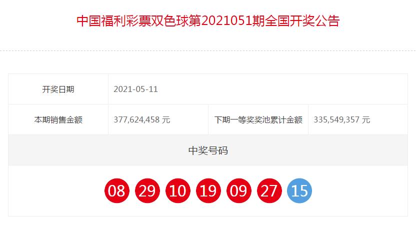 中国福彩七乐彩全国开奖公告(第2021051期)