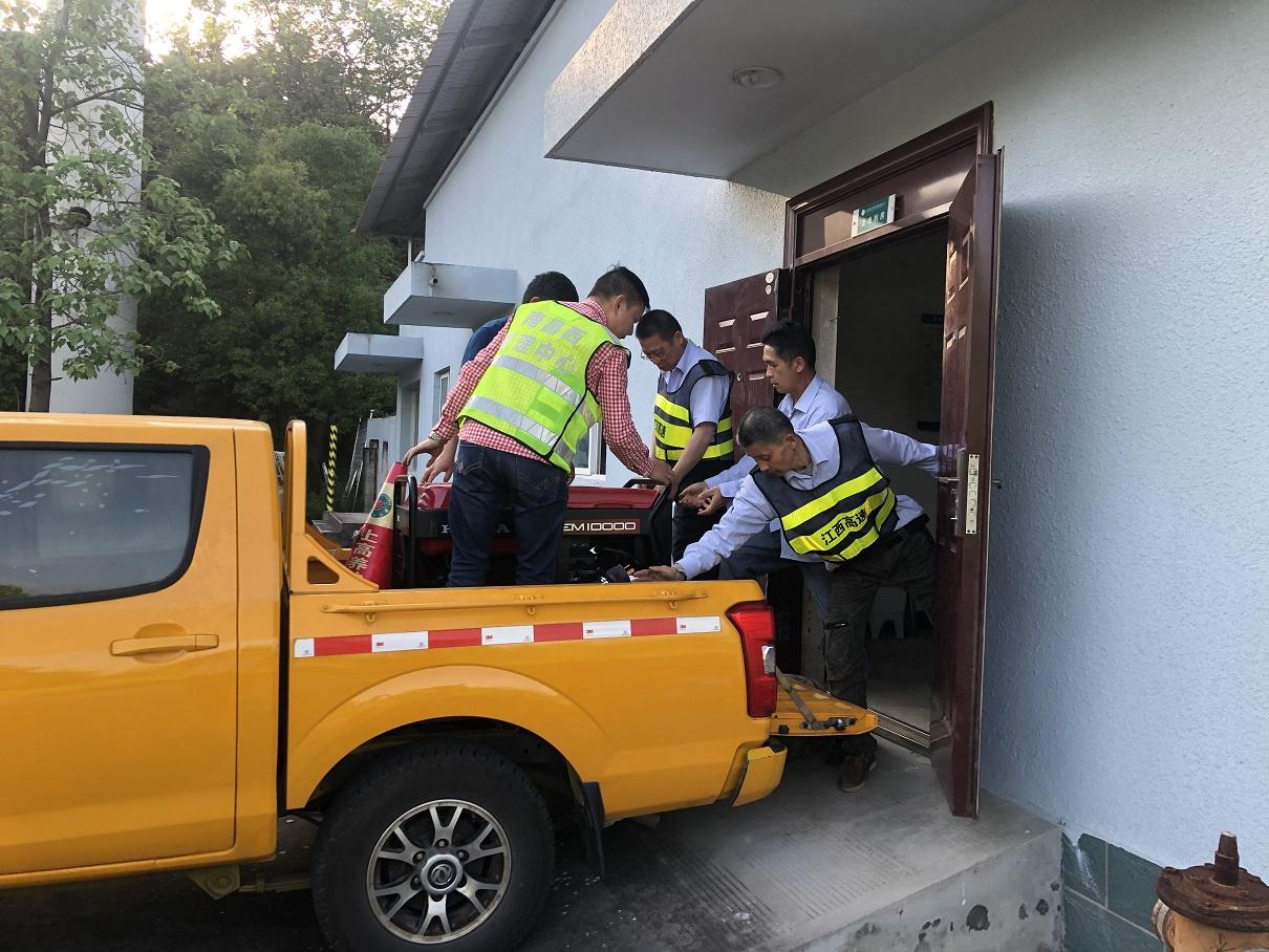 南昌西管理中心:争分夺秒,紧急抢修门架系统供电故障!