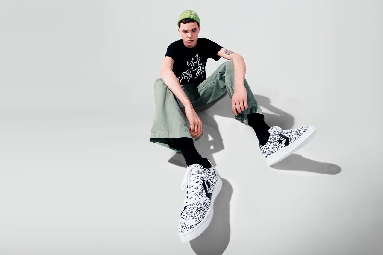 全新 Keith Haring x Converse 联名曝光!