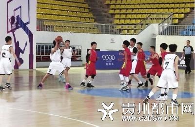 体彩助力2021年中国小篮球联赛暨习水县首届小篮球比赛
