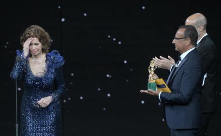索菲亚·罗兰86岁再获意大利电影大卫奖