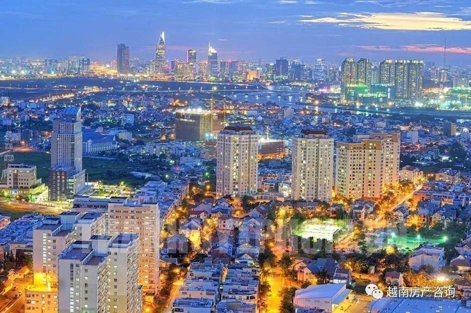 胡志明市初级市场房价一年上涨了近15%