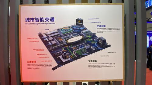 交博会上 这家企业将重庆3D地形作样本,优化交通系统