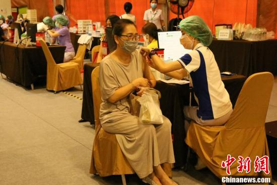 曼谷医院外疫苗接种点启用
