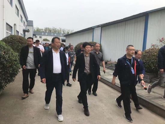 阜阳市临泉县姜寨镇组团赴河南考察特色小镇