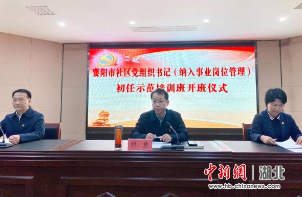 襄阳市基层党组织组织力不断提升