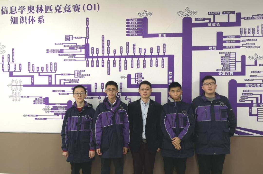 巴蜀中学7人入选重庆市信息学奥赛代表队