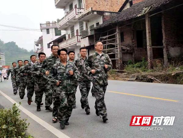 新邵县坪上镇开展山洪地质灾害应急救援演练