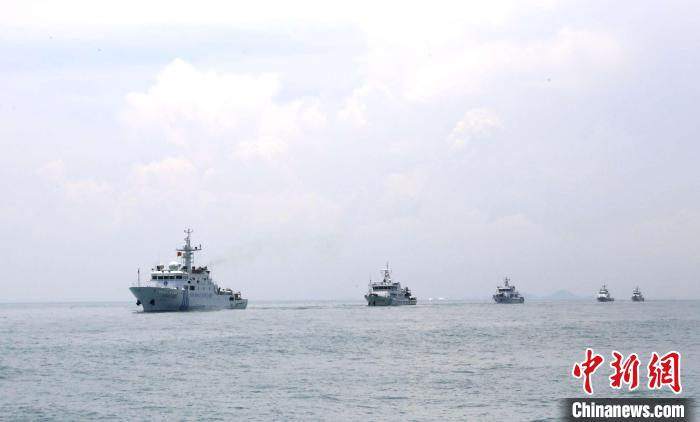 闽粤联合开展海洋伏季休渔执法巡查 已查获涉嫌违法违规渔船118艘